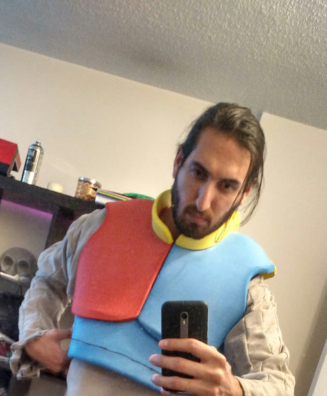 Witcher shirt & armour, in progress