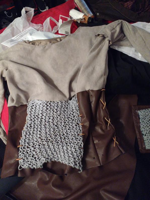 Shirt-in-progress